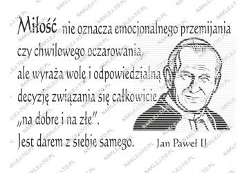 Słowa Jana Pawła Ii Jako Naklejki