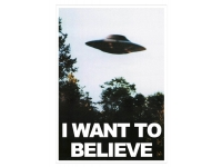 Plakat I want to believe