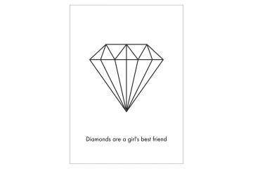 Plakat diamonds