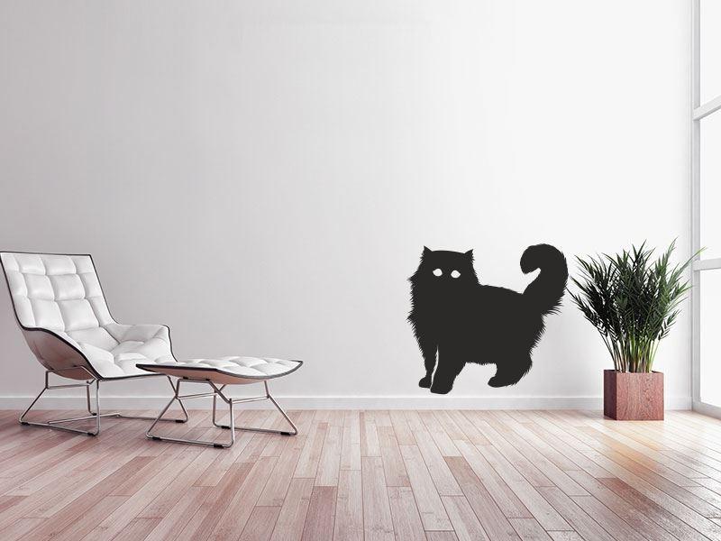 Naklejka Na ścianę Kot 5 Zwierzęta