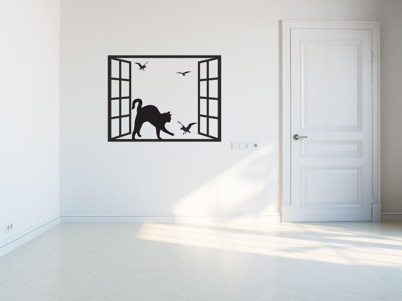 Kot W Oknie Zwierzęta